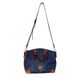 Dooney & Bourke Gretta Signature Satchel Crossbod